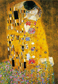 The Kiss, by Gustave Klimt