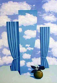 The Beautiful World, by Rene Magritte