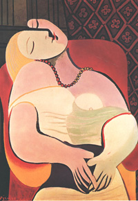 The Dream, by Pablo Picasso